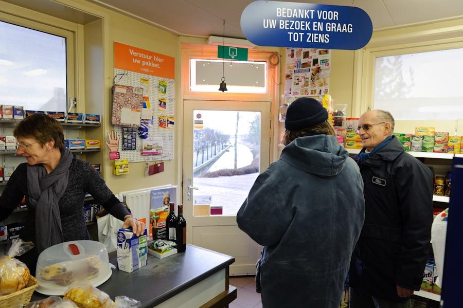 Supers, de laatste winkel van het dorp