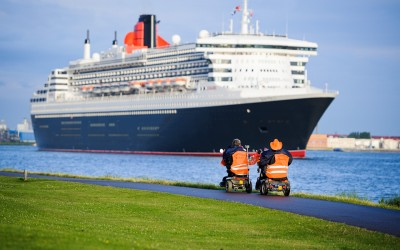 Afvaart Queen Mary 2