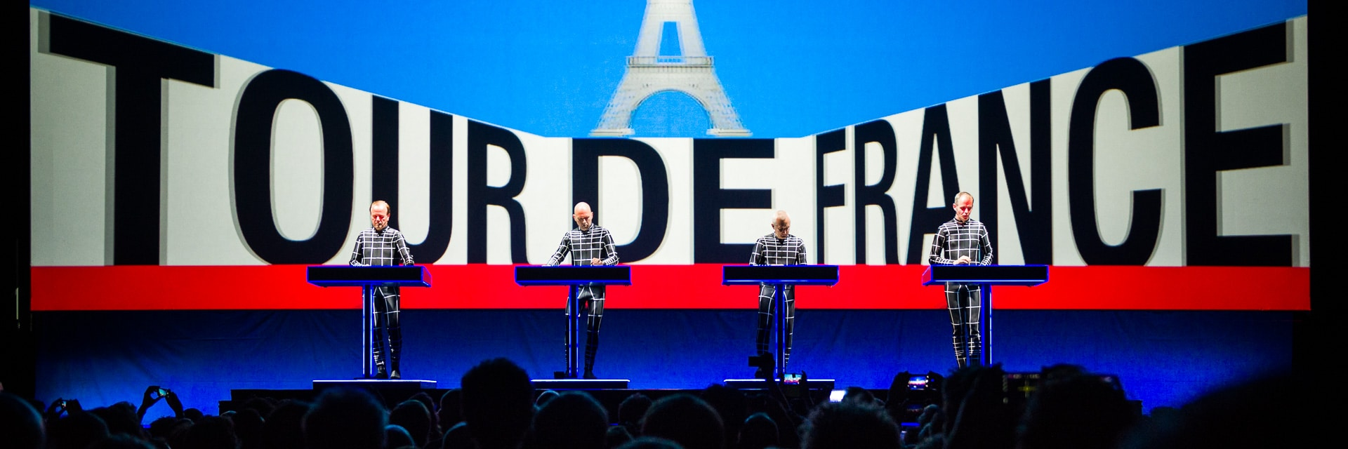 Kraftwerk speelt album Tour de France integraal met 3D visuals in TivoliVredenburg - ©Jelmer de Haas - All Rights Reserved