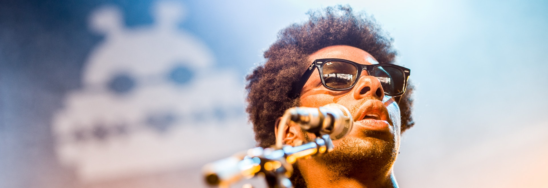 Curtis Harding op Lowlands festival 2015 - ©Jelmer de Haas - All Rights Reserved