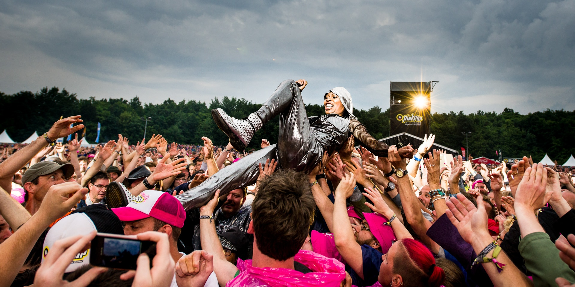 Skunk Anansie op Pinkpop 2016 - ©Jelmer de Haas - All Rights Reserved