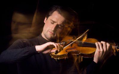 Flitsende perskit voor violist Lorenzo Gatto