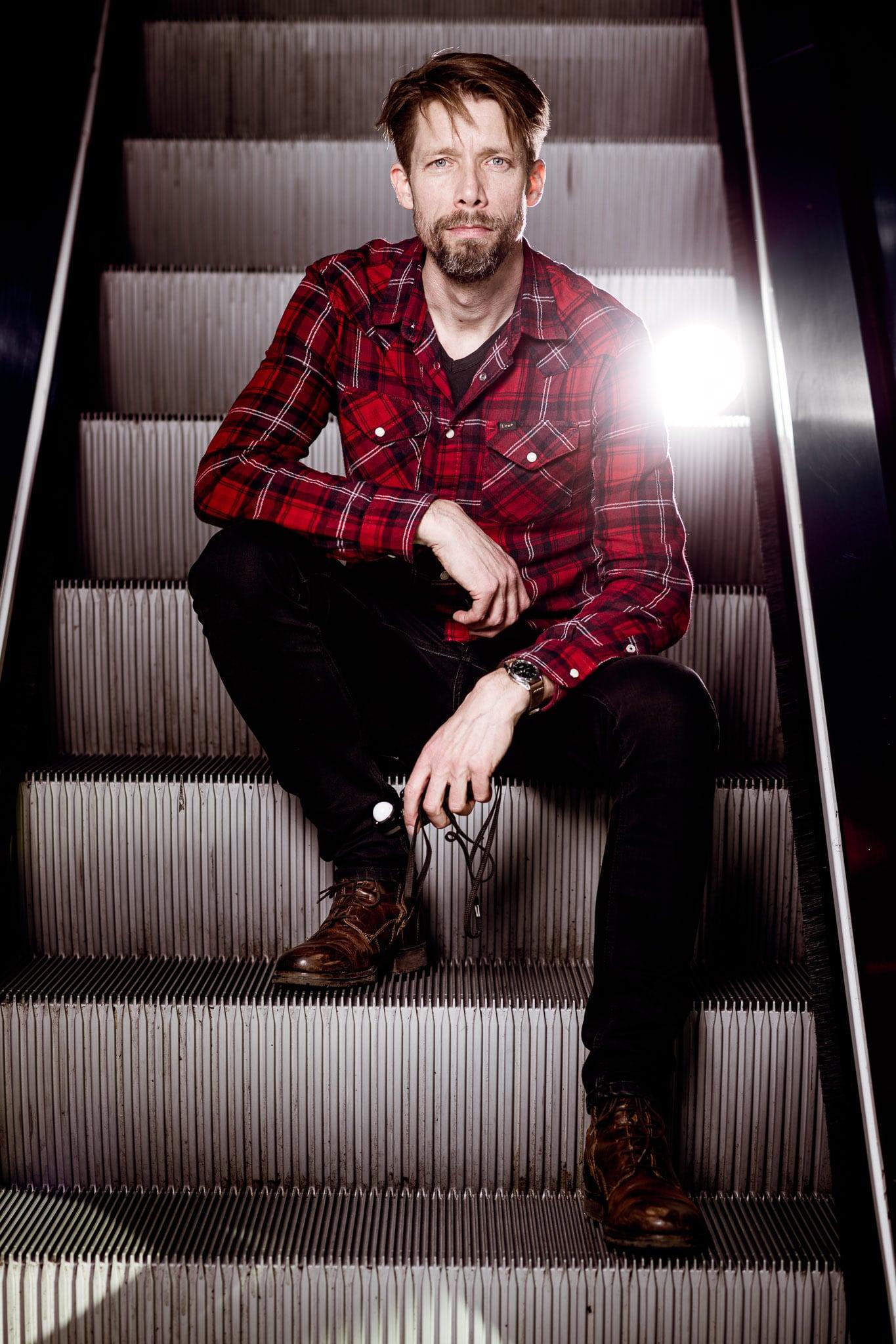 Portret Jelmer de Haas